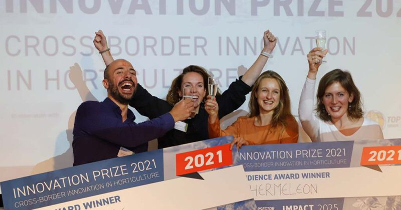 InsectSense wins the Topsector Horticulture Innovation Prize 2021